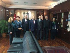 Eskişehirli MHP'lilerden Eyüp Yılmaz'a Ziyaret