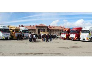 Bayırbucak Türkmenlerine Erzurum'dan Yardım