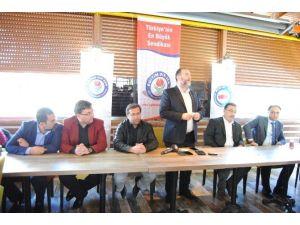 Eğitim Bir-sen Eskişehir Şube Başkanı Muammer Karaman: