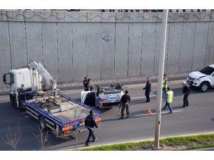 Diyarbakır'da Zincirleme Trafik Kazası: 3 Polis Yaralandı