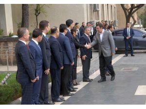 Kalkınma Bakanı Cevdet Yılmaz, STK Temsilcileri İle Toplandı
