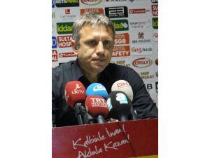 Gaziantepspor Teknik Direktörü Topçu: Hakem, hakemlik yapmadı
