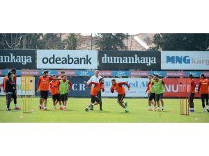 Galatasaray, Gençlerbirliği maçının son çalışmasını yaptı