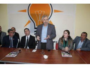 AK Parti Sivas Milletvekili Soluk Gemerek'te