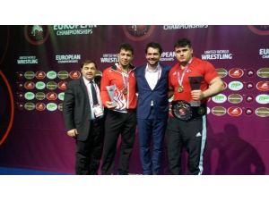 Avrupa Şampiyonu Rıza Kayaalp