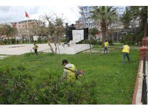 Aydın Büyükşehir Belediyesi'nden Didim'de Bahar Temizliği