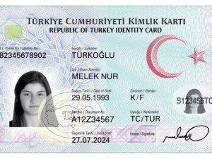 Çipli kimlik kartlarına geçiş Kırıkkale'de başlıyor