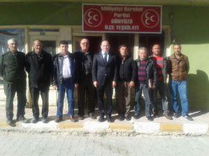 MHP Günyüzü İlçe Teşkilatı'nda Nöbet Değişimi