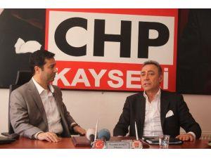 22. Dönem İstanbul Milletvekili Şimşek'den CHP İl Başkanlığı'na Ziyaret
