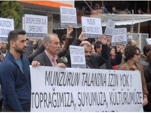 Eskişehir Dersimliler Derneği'nden 'Munzur' Protestosu
