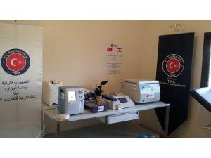 Lübnan'da Kaferbenin Belediyesi Halk Sağlığı Merkezi'ne Tıbbi Cihaz Desteği