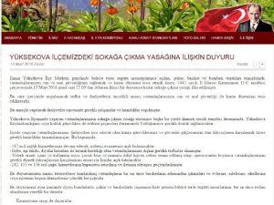 """Hakkari Valiliği: """"Yüksekova'da Eczaneler Ve Fırınlar Açık Olacak"""""""