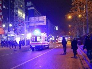 Saldırıda hasar gören araçlar kaldırıldı