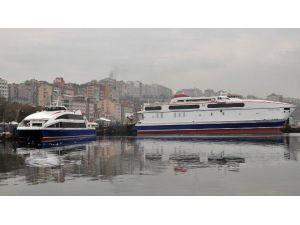 Marmara'da Deniz Ulaşımına Hava Engeli
