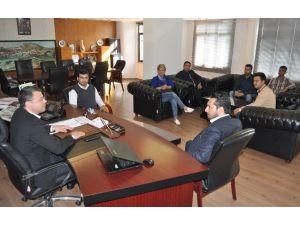 CHP Gençlik Kollarından Başkan Turgut'a Ziyaret