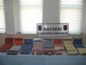 Marketten Bin 890 Paket Sigara Çalan Zanlılar Yakalandı