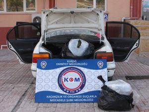 Elazığ'da 20 Kilo Esrarla Yakalanan 4 Şüpheli Tutuklandı