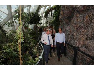 Daniş Ve Yazıcı'dan Konya Tropikal Kelebek Bahçesi'ne Ziyaret