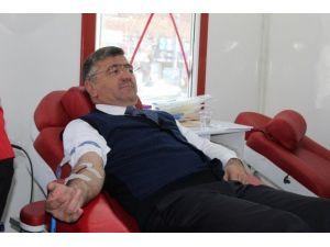 Niğde Belediye Başkanı Kan Bağışı Çağrısı Yaptı