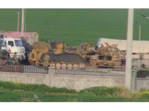 Tanklar İpekyolu'na Konuşlandırıldı