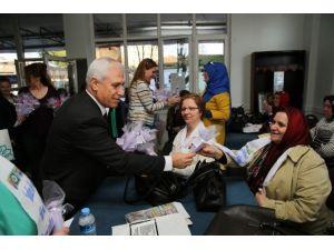 Bosnalı Savaş Mağduru Kadınlardan Bozbey'e Ziyaret