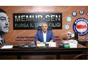 Memur-sen Bursa İl Temsilciliği Ankara'daki Bombalı Saldırıyı Kınadı