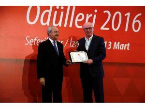 SODEM'den Odunpazarı Belediyesi'ne Ödül