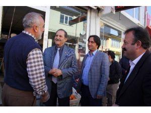 SESOB Başkanı Köksal İmranlı Ve Zara'yı Ziyaret Etti