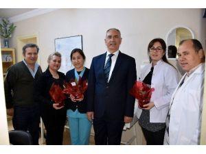 Başkan Kale, Sağlıkçıların Tıp Bayramı'nı Kutladı