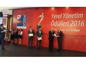 Süleymanpaşa Belediyesi'ne Ödül