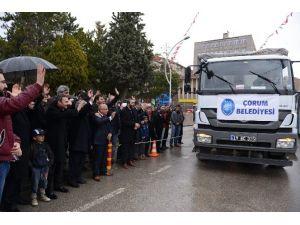 Çorum'dan Özel Harekat Polisleri Ve Terör Mağdurlarına Yardım Malzemesi