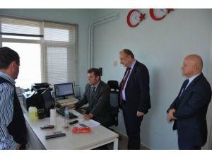 Teski Genel Müdürü Başa Meteoroloji Müdürü Güder'i Ziyaret Etti