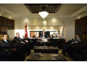 Avrupa Zonguldaklılar Derneği'nden Rektör Özer'e Ziyaret