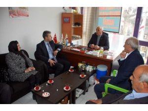 AK Parti'den, Şehit Ve Gazi Derneklerine Ziyaret