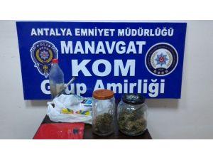 Manavgat KOM'dan Uyuşturucu Baskını