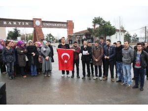 AK Partili Gençler Terörü Kınadı