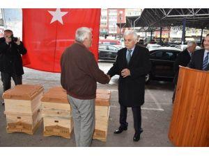 Karabük'te Arı Üreticilerine Kovan Desteği