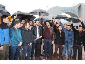 Karabük'te Üniversite Öğrencilerinden Teröre Tepki