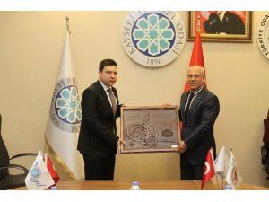 KTO Kastamonu Taşköprü Ticaret Ve Sanayi Odası Heyetini Ağırladı