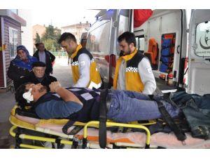 İnşaattan Düşen Genç İşçi Yaralandı