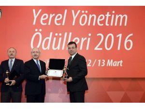 Beylikdüzü Belediyesi'ne Kentsel Gelişim Dalında Ödül