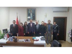 Aday Öğretmenlerden Başkan Aydoğdu'ya Ziyaret