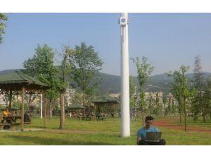Büyükşehir'den Kablosuz Güvenli İnternet Erişimi