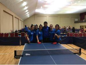 KAÜ Kız Ve Erkek Masa Tenisi Takımı, Çeyrek Finalde