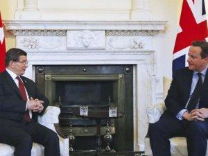 Cameron'dan Davutoğlu'na taziye ve destek mesajı
