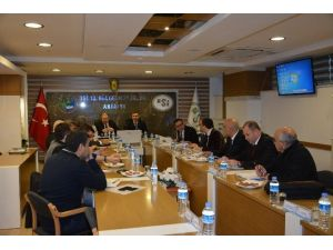 EXPO-kundu Yolu Çalışmaları DSİ'de Değerlendirildi