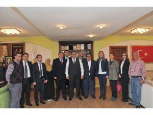 Tarsus Kent Konseyi'nden Başkan Can'a Ziyaret