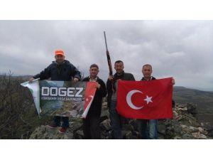 Doğa Gezginleri Türkmentepe'ye Tırmandı