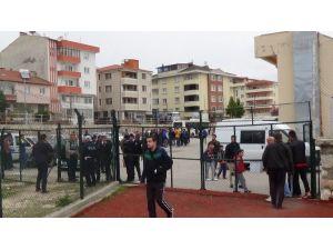 Bilecik'te Amatör Maçta Olaylar Çıktı