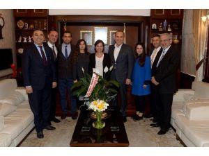 Başkan Sözlü'ye STK'lardan Ziyaret